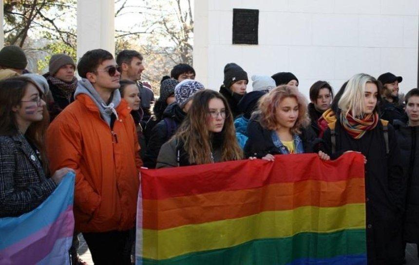 В Киеве сорвали марш в защиту трансгендеров (фото)