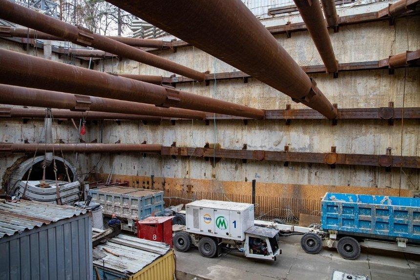 Метро на Виноградарь: как продвигается строительство двух новых станций
