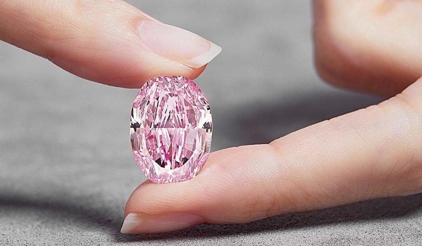 ВШвейцарии продали огромный розовый бриллиант за26млн долларов: его история связана сКиевом