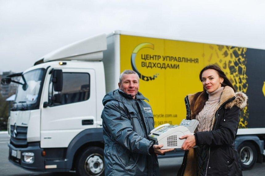 В Киеве заработают мобильные пункты приема старой техники: адреса и график