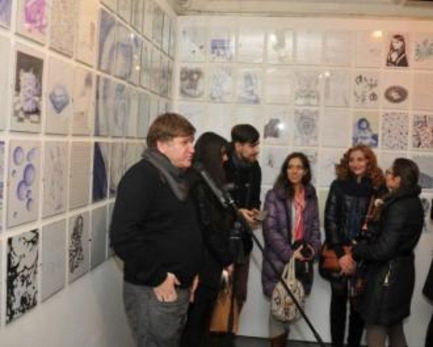 В Киеве покажут 500 рисунков шариковой ручкой