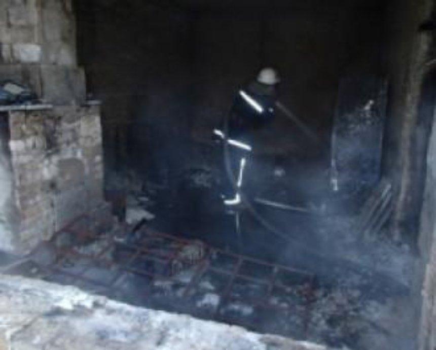 В Киеве на кладбище произошел пожар