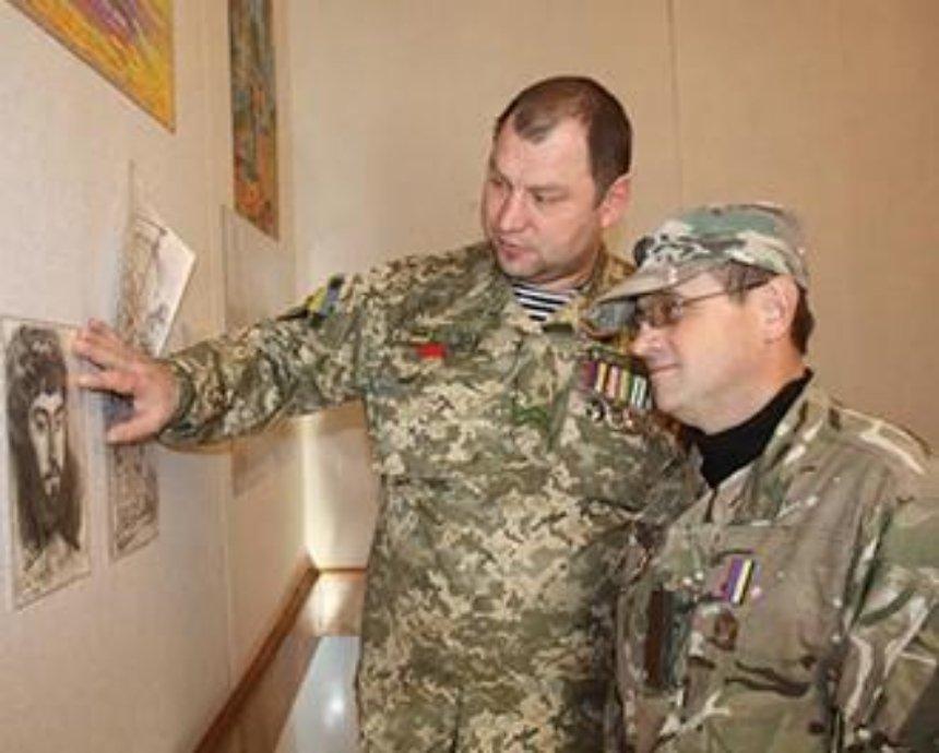 В Киеве откроется выставка творчества воинов и волонтеров АТО
