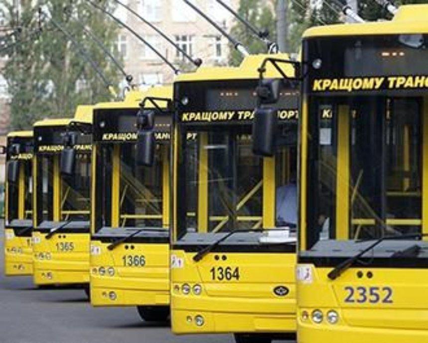 В Киеве часть маршруток заменят на троллейбусы и автобусы