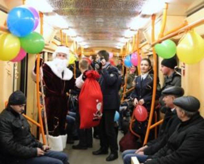 Как в Киеве на Новый год будет работать общественный транспорт