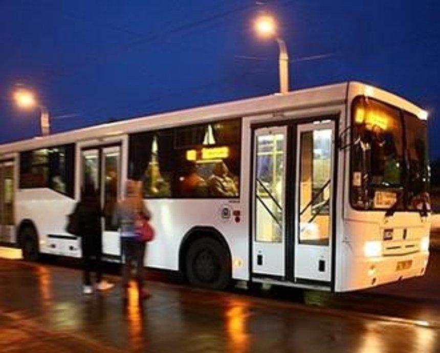 В Киеве определили 4 тестовых ночных маршрута