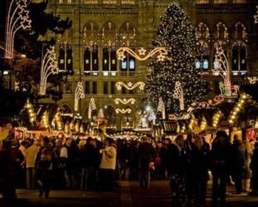 На следующей неделе в Киеве открываются елочные ярмарки