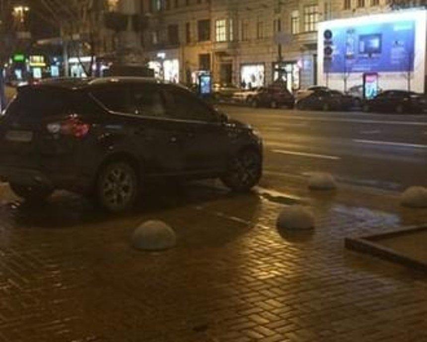 В центре Киева провалился эксперимент против автохамов (фото)