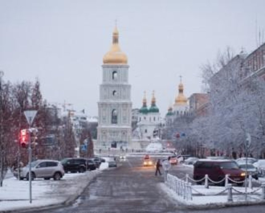 В столицу зима опоздала на 33 дня - климатологи