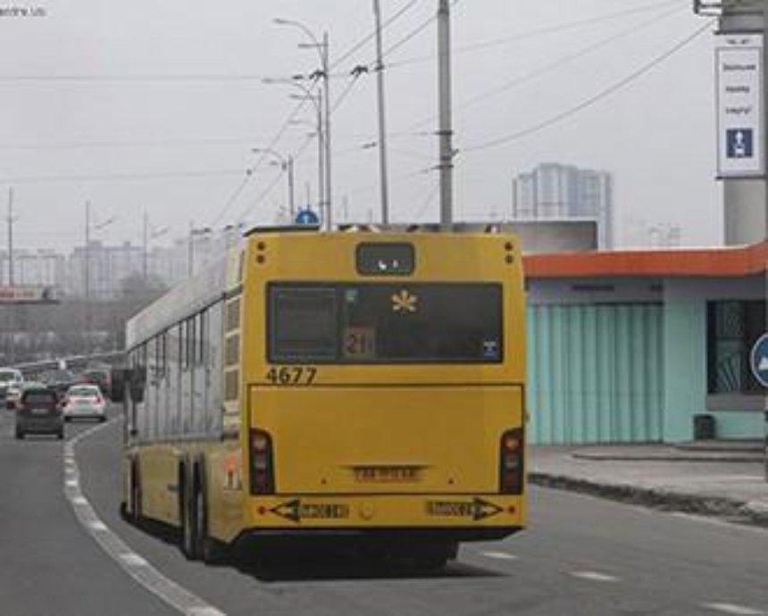 Полиция Киева в часы пик будет патрулировать дорожные полосы для пассажирского транспорта