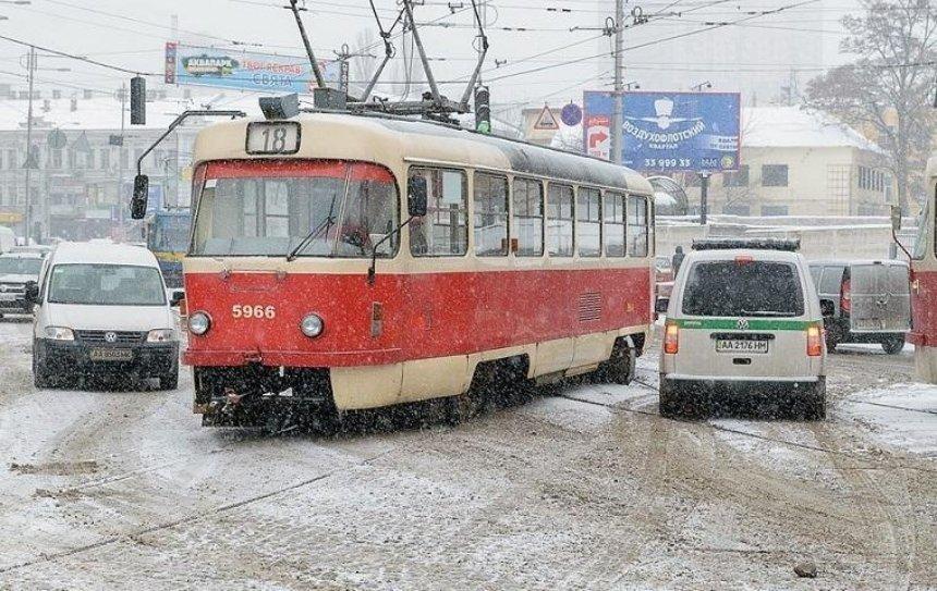 В Киеве просят отказаться от трамваев
