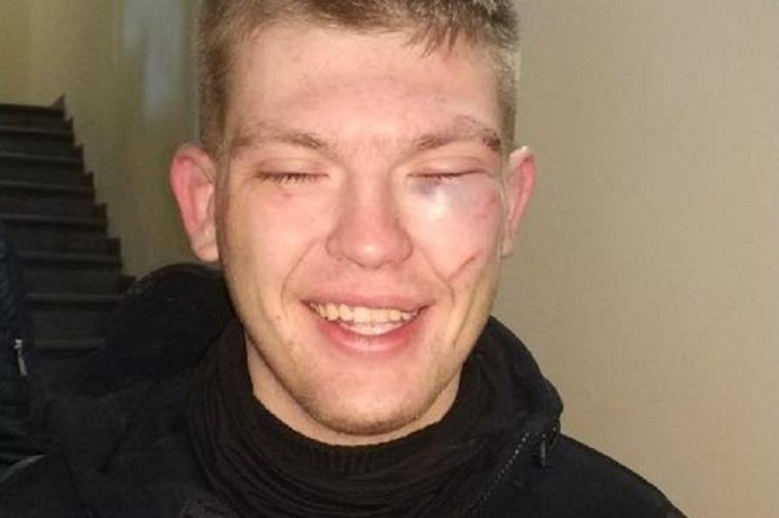 Бандиты в масках пытались ограбить заправку в Киеве (фото)