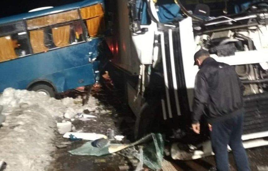 Під Києвом сталися дві ДТП заучастю маршруток: постраждали 15осіб (фото, відео)