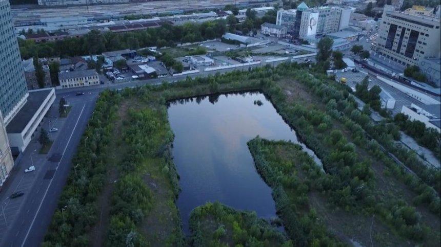 На месте бывшего трамвайного депо киевляне снова хотят сделать парк