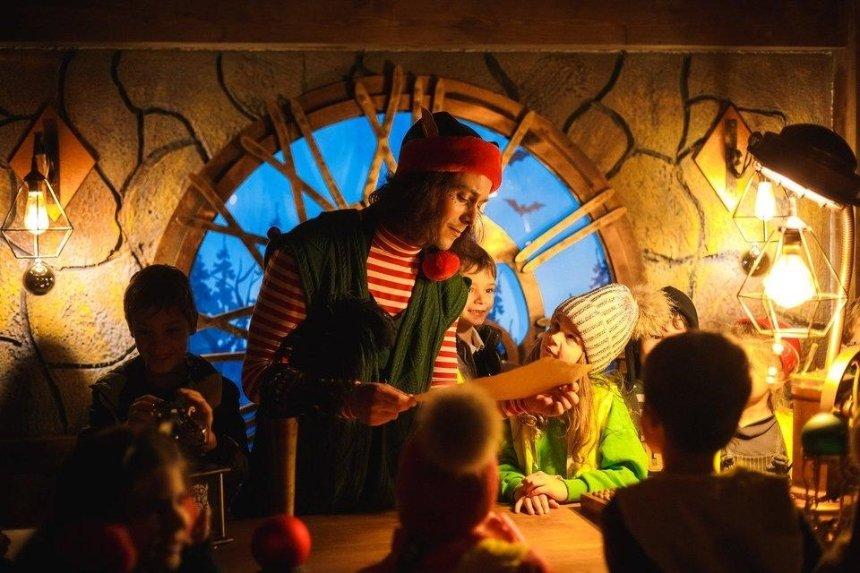 На ВДНГ открылась Рождественская фабрика грез (видео)