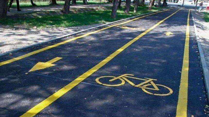 В Киеве разработали правила обустройства велодорожек
