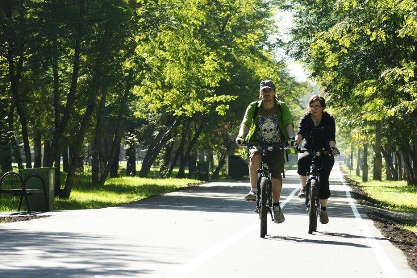 Все парки Киева хотят соединить одним веломаршрутом