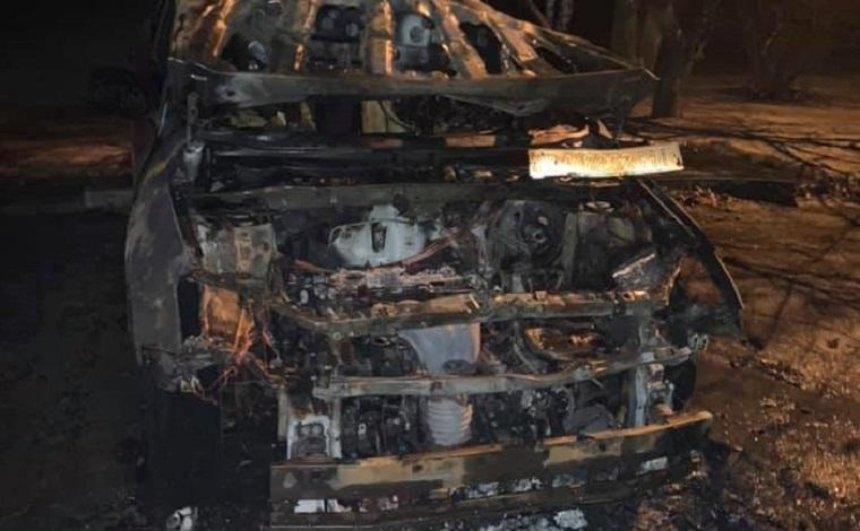 Неизвестные сожгли автомобиль соосновательницы «Батьки SOS» (фото)