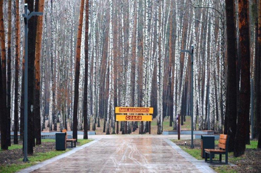 Коммунальщики показали капремонт в парке «Совки» (фото)