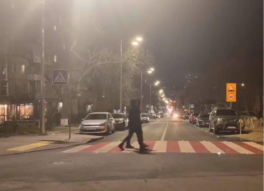 Переход на улице Федорова засверкал новыми светодиодами (видео)