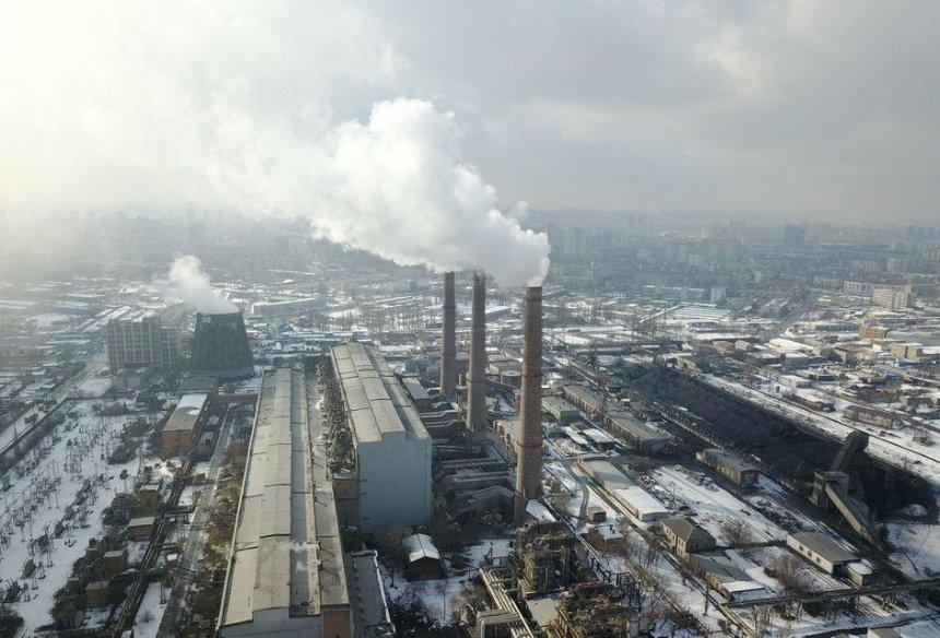 В Киеве в несколько раз увеличился уровень загрязнения воздуха