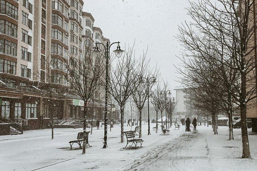 Смотрите фото снегопада, которые публикуют киевляне в Instagram