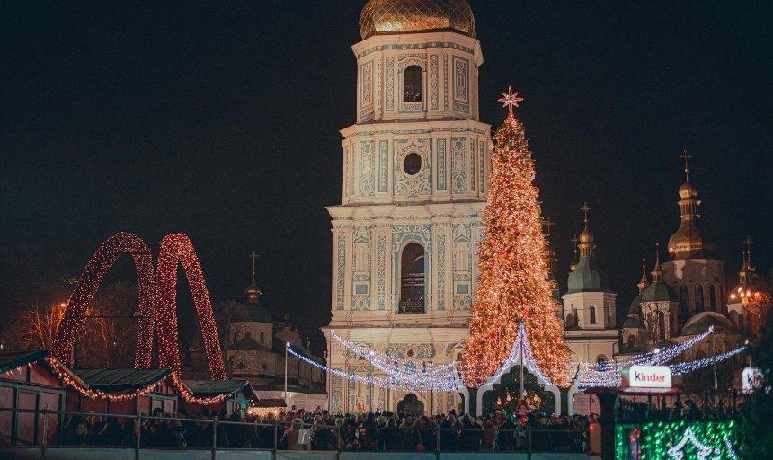 Украинцы смогут заказать новогодние поздравления, которые покажут на Софийском соборе