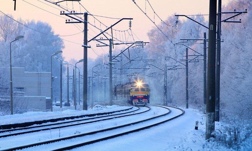Из-за погоды произошли сбои в графике движения поездов