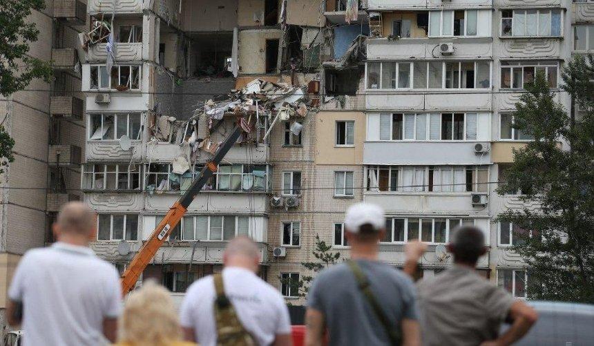 Взрыв дома наПозняках: жители многоэтажки создали арт-объект впамять опогибших соседях