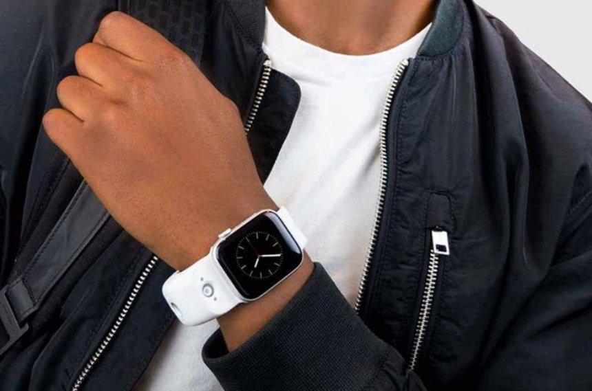 Для Apple Watch выпустили ремешок с двумя камерами, который может снимать фото и видео