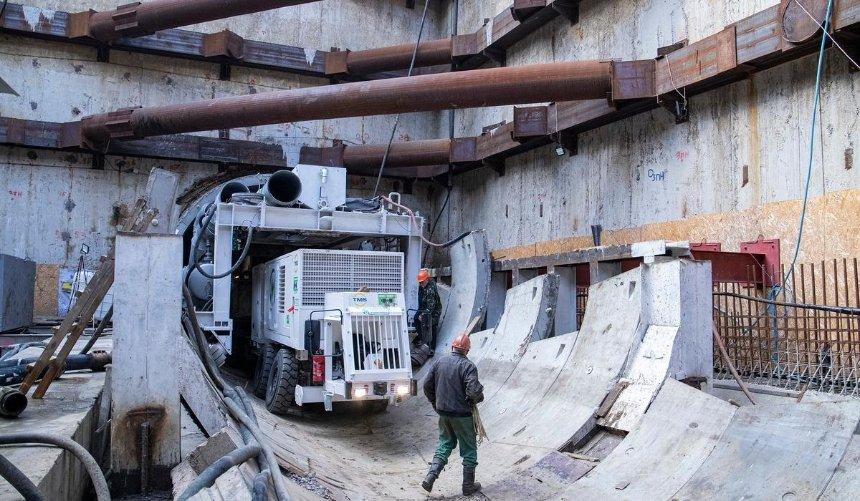 Строительство метро наВиноградарь может затянуться: причина