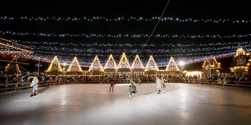 Новый год встиле поттерианы: вOsocor Winter Village устроят гуляния под открытым небом