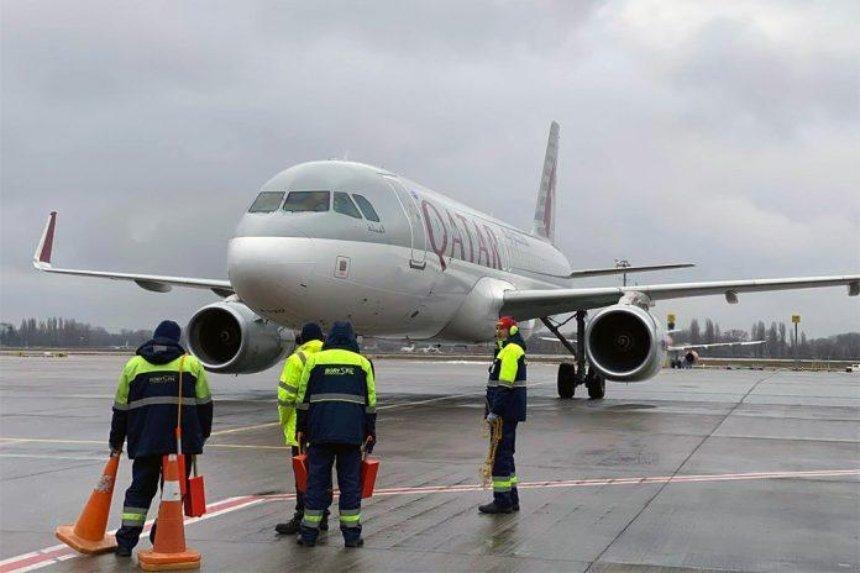 Qatar Airways возобновила полеты в аэропорт Борисполь