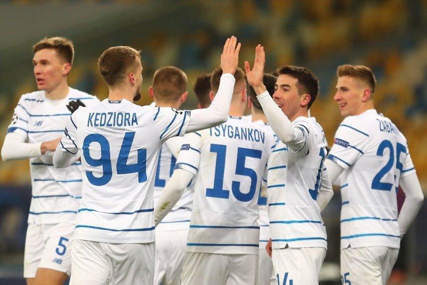 «Динамо» обыграло команду Реброва и вышло в Лигу Европы