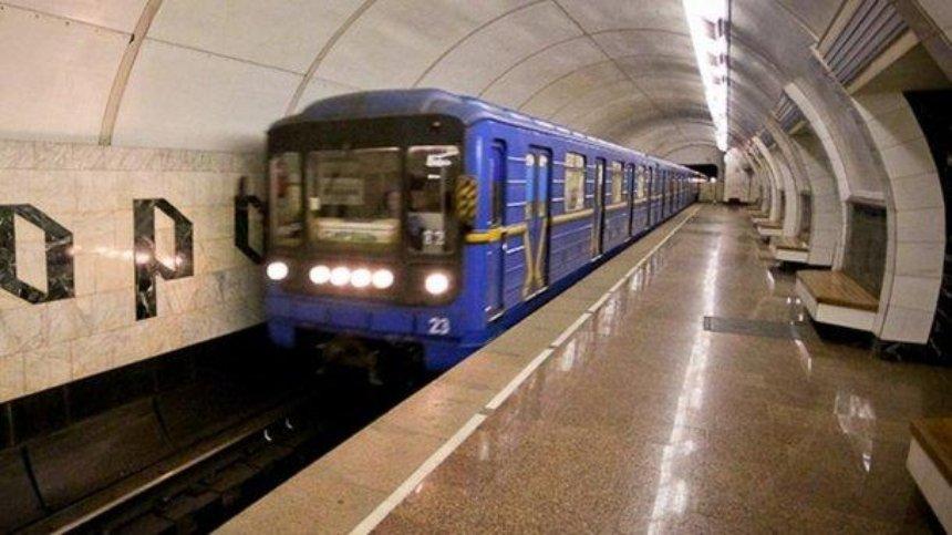 Киевский метрополитен закупит поезда с междувагонным проходом