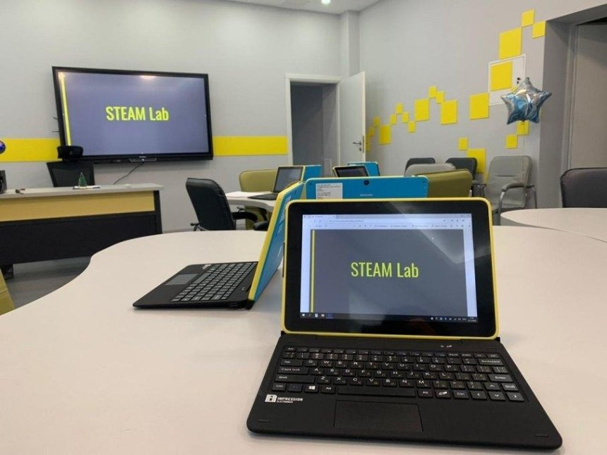 В киевской школе открыли инновационную лабораторию