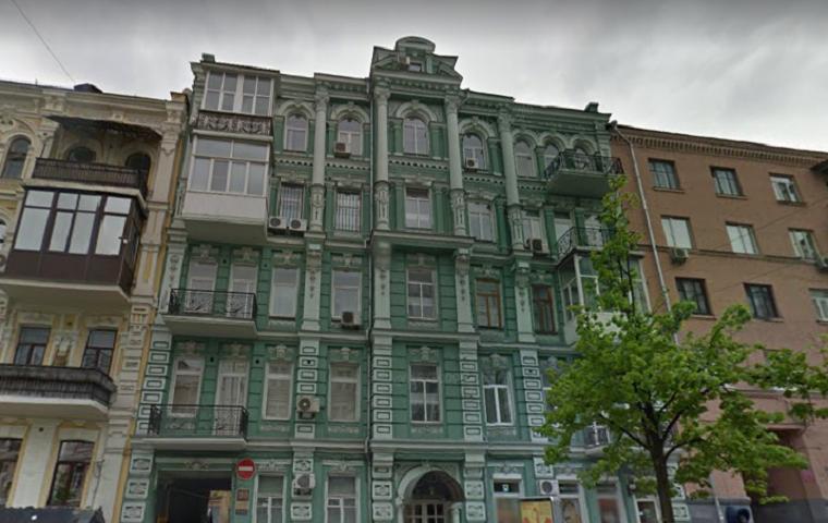 В центре столицы может рухнуть дом