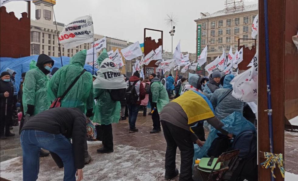 НаМайдане Незалежности проходит митинг предпринимателей «SaveФОП» (обновлено)