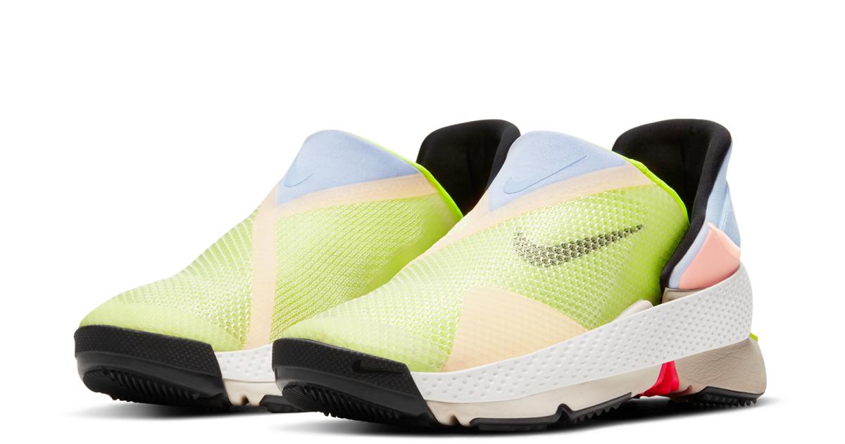 Nike создали кроссовки, которые можно надевать и снимать без рук