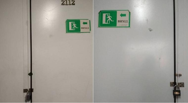 Киевлянка раскритиковала пожарную безопасность в столичном ТРЦ (фото)