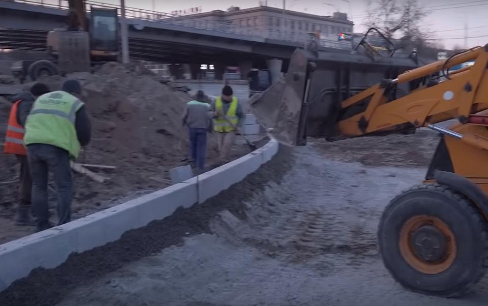 Как продвигается строительство Шулявского моста во время карантина