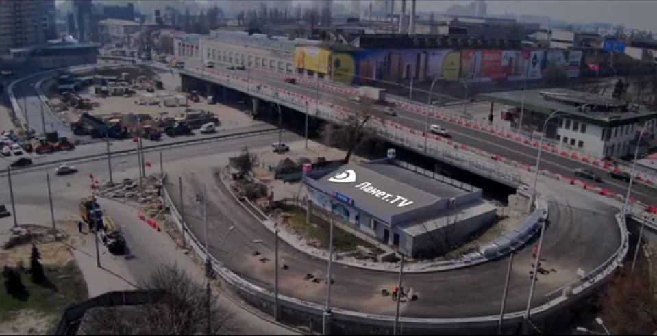 Шулявский мост обзавелся эстакадами