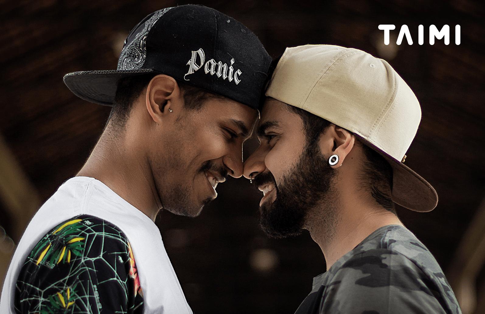 В Киеве сняли рекламу для ЛГБТ-платформы Taimi