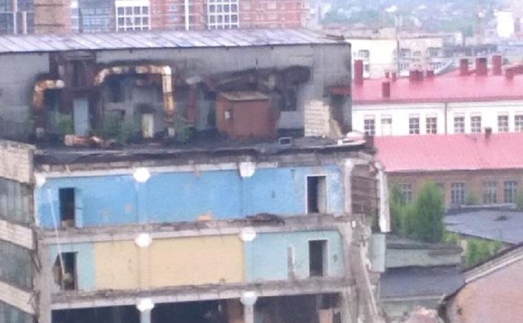 ВКиеве сносят корпуса завода «Радар» (фото)