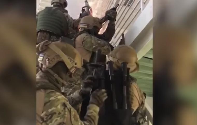 Перестрелка в Броварах: Геращенко показал видео задержания подозреваемых