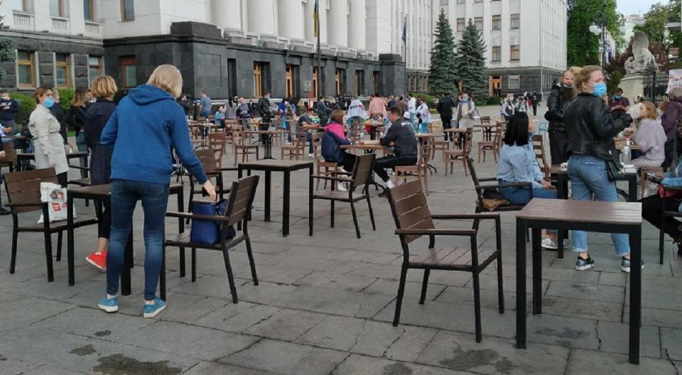 Главное завыходные: разбитый фонтан, перенос фестиваля Upark, «пикник» рестораторов подОП