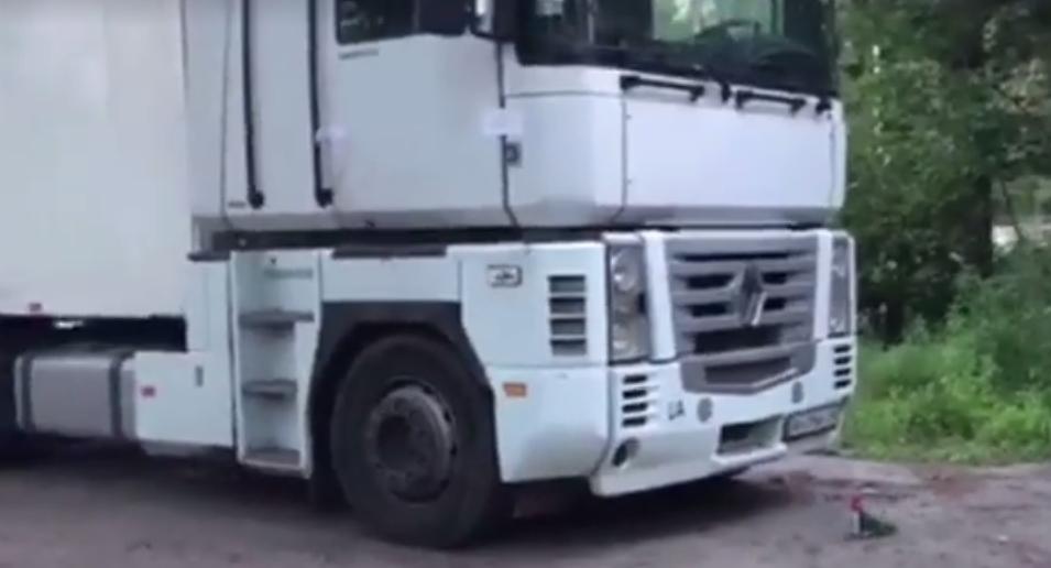 Раскрыта тайна вонючей фуры под Киевом (фото, видео)