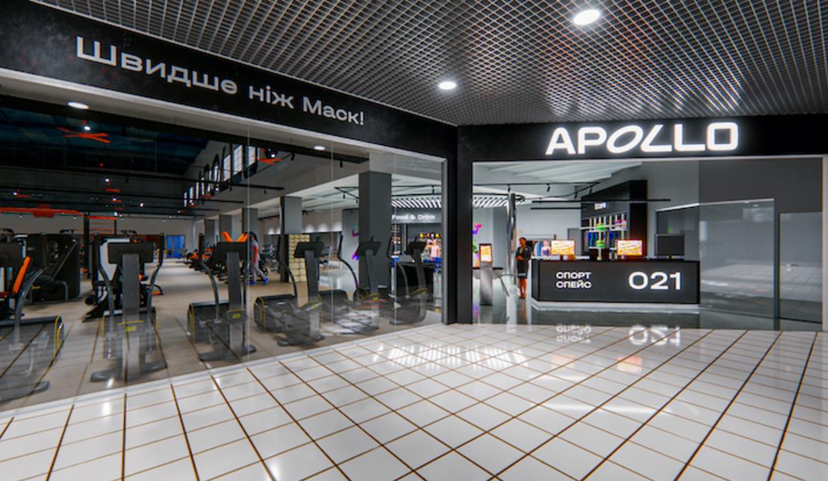 ВКиеве появится новая сеть спортивных клубов Apollo Next
