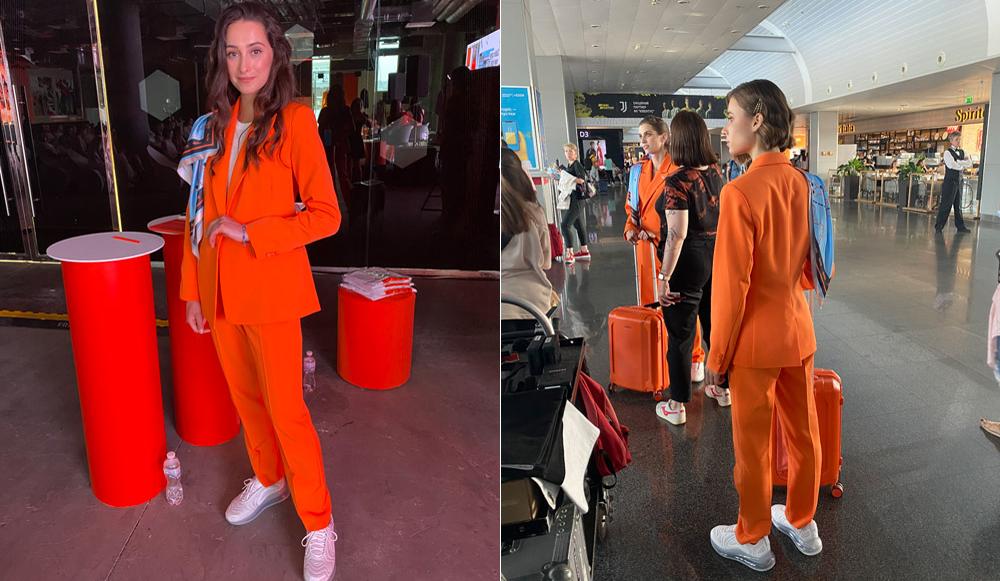 Кроссовки и брючные костюмы: SkyUp изменит форму стюардесс