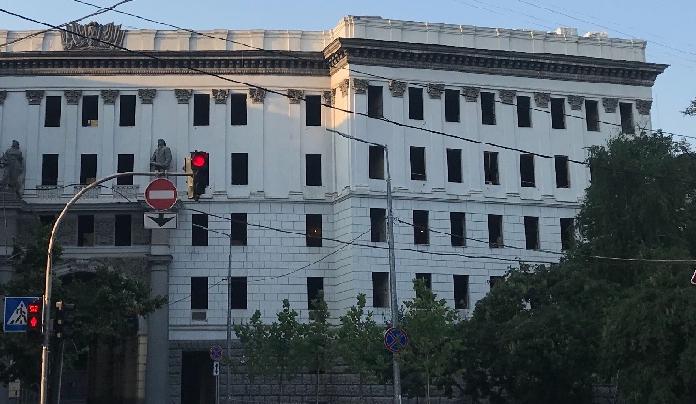В центре Киева реконструируют здание начала XX  века